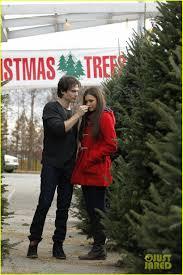 dobrev ian somerhalder tree shopping photo