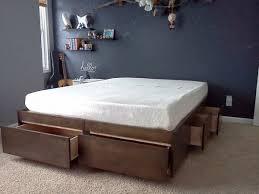 Diy Platform Bed Plans The 25 Best Platform Bed With Drawers Ideas On Pinterest Bed
