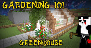 minecraft gardening 101 greenhouse tutorial 2 youtube