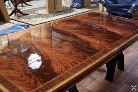 Mahogany Dining Table Kobe Table - Mahogany kitchen table