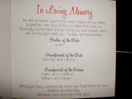unique wedding memorial ideas in loving memory diys