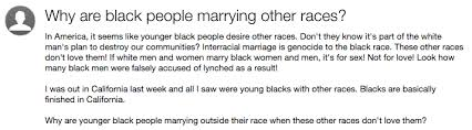 Interracial Dating Meme - 10 stupid yahoo answers questions about interracial relationships