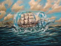 ship in a 50 best ships in bottles worlds within images on