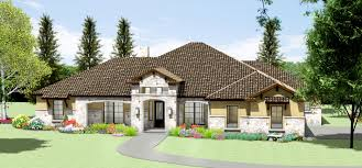 tuscan home plans with casitas