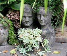 How To Make Planters by How To Make Concrete Head Planters All The Best Ideas Head