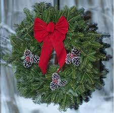 christmas tree delivery fraser fir wreath five christmas trees real