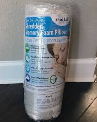 Sleep Number Bed Uneven Good Life Essentials Shredded Memory Foam Pillow Review