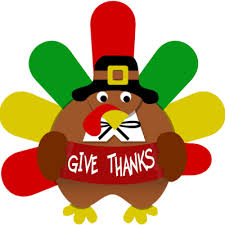 image give thanks turkey thanksgiving clip christart
