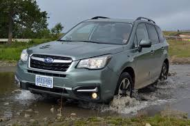 subaru forester modified 2017 subaru forester 2 5i review autoguide com news