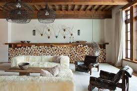 magnificent indoor and outdoor firewood storage solutions