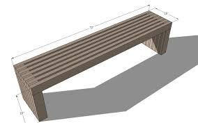 Modern Wood Outdoor Furniture Contemporary Benches Furniture Contemporary Benches 87