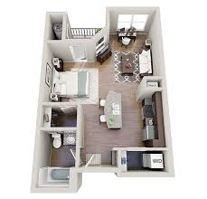 One Bedroom Apartment Designs Example This Is A Cool Example Of A - One bedroom apartment designs example