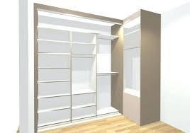 placard d angle chambre dressing avec porte profondeur placard avec porte coulissante s