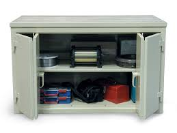 Bi Fold Cabinet Doors Cabinet Workbench With Bi Fold Doors Cabinet Workbench With