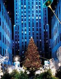 rockefeller center tree lighting ceremony takes place at