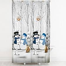 Kas Shower Curtain Snowman Shower Curtain Bed Bath U0026 Beyond