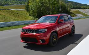 trackhawk jeep 2018 jeep grand cherokee trackhawk daily hellraiser the car guide