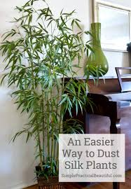 silk plants an easier way to dust silk plants simple practical beautiful