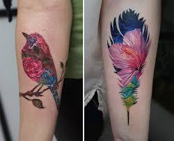 beautiful double exposure tatoos by andrey lukovnikov hipsthetic