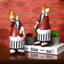 patisserie chef model crafts decorative home decor accessories