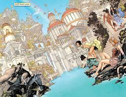 Dc Comics Map Movies Tv Wonder Woman Set Video Of Themyscira Dccomics