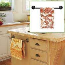 Clever Design Kitchen Towel Bar Interesting Decoration Kitchen - Kitchen cabinet towel rack