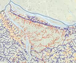 City Of Portland Maps by Portland U2013 Hidden Hydrology