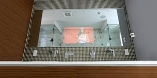 Mirror Tvs For Bathroom Tv Mirror Bathroom Tv Mirror Kit Throughout Tv Mirrors For