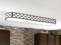 kitchen lighting fluorescent light fixtures rectangular chrome