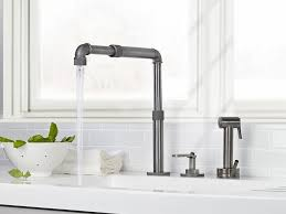 kitchen faucet beautiful industrial style kitchen faucet