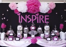 Pink Wedding Candy Buffet by Pinterest Graduation Party Ideas Dessert Buffet The Daily