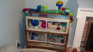 Homemade Rabbit Cage Diy Cages With Instructions Supplies U0026 Accessories Hamster