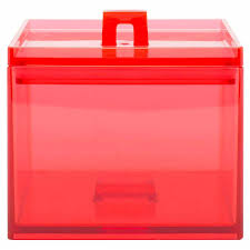 red stackable kitchen canister for sale red 1qt zak style