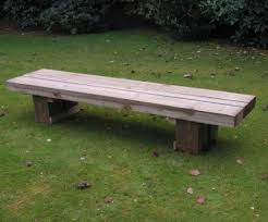 Railway Sleepers Garden Ideas Railway Sleeper Bench
