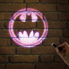 batman signal light projector batman projection torch illuminate the bat signal menkind