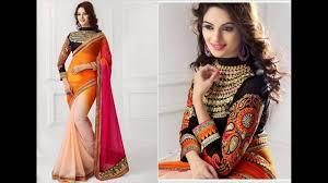 saree blouse styles sari blouse styles