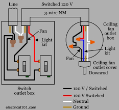 hunter ceiling fan with light wiring diagram wirdig within