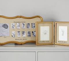 Pottery Barn Picture Frame Gold Gilt First Year Frame Pottery Barn Kids