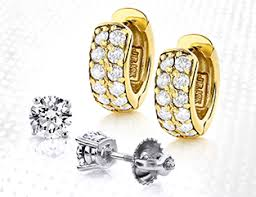 real diamond earrings for men men s diamond earrings stud hip hop earrings in gold and silver