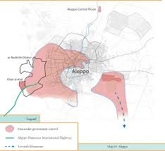 Aleppo Syria Map by Aleppo Conflict Timeline 2013 The Aleppo Project