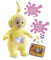 teletubbies lullaby laa laa soft toy yellow amazon uk toys