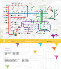 Bus Route Map Go Kl City Bus Two New Lines Blue Line U0026 Red Line Malaysia