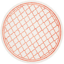 Indoor Outdoor Round Rugs by Beige Outdoor Rugs Rugs The Home Depot