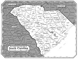 Map Of South Carolina Counties All About Genealogy And Family History File South Carolina Lores