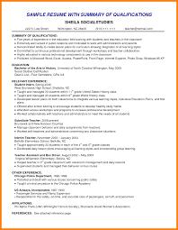 sample resume career summary wonderful ideas examples of resume summary 11 resume exclusive inspiration examples of resume summary 5 8