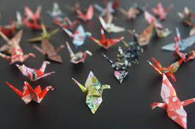 origami chambre bébé réaliser des guirlandes en origami chambre d les