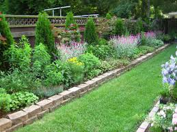 cheap garden ideas edging front on a budget the perfect border