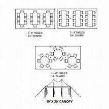 how many tables fit under a 10x20 tent seating for 10x30 tent google search general party ideas