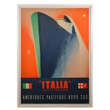 martini rossi poster italian poster for ocean liner