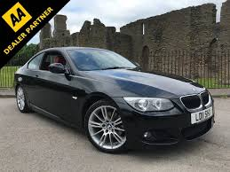 bmw m sport coupe used black bmw 320d for sale swansea